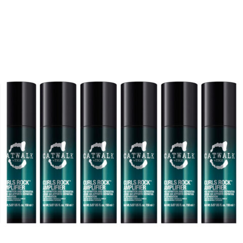 Tigi Catwalk Curlesque Curls Rock Amplifier 150ml - amplificatore ricci kit 6 pezzi