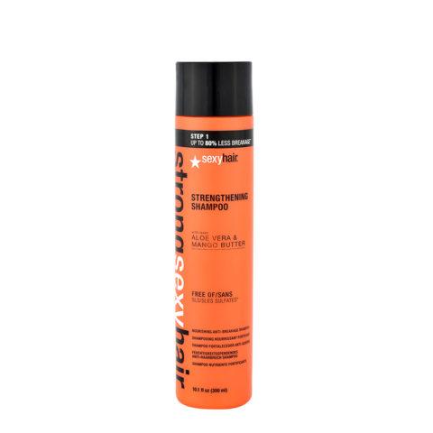 Strong Sexy Hair Strenghtening Shampoo ristrutturante Capelli Danneggiati 300ml