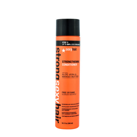 Strong Sexy Hair Strenghtening conditioner 300ml - balsamo ristrutturante