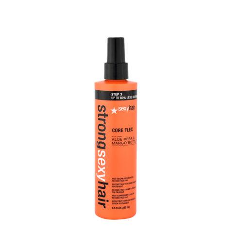 Strong Sexy Hair Core flex 250ml - spray ristrutturante senza risciacquo