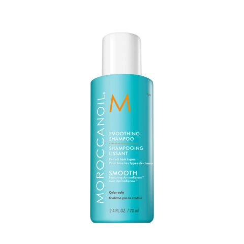 Moroccanoil Smoothing Shampoo 70ml - Shampoo anticrespo lisciante