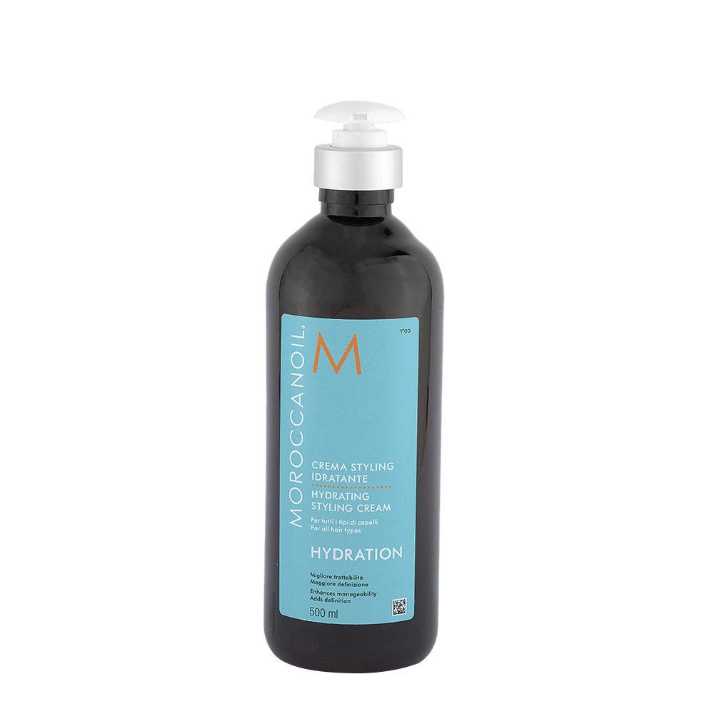 Moroccanoil Hydrating styling cream 500ml - crema idratante
