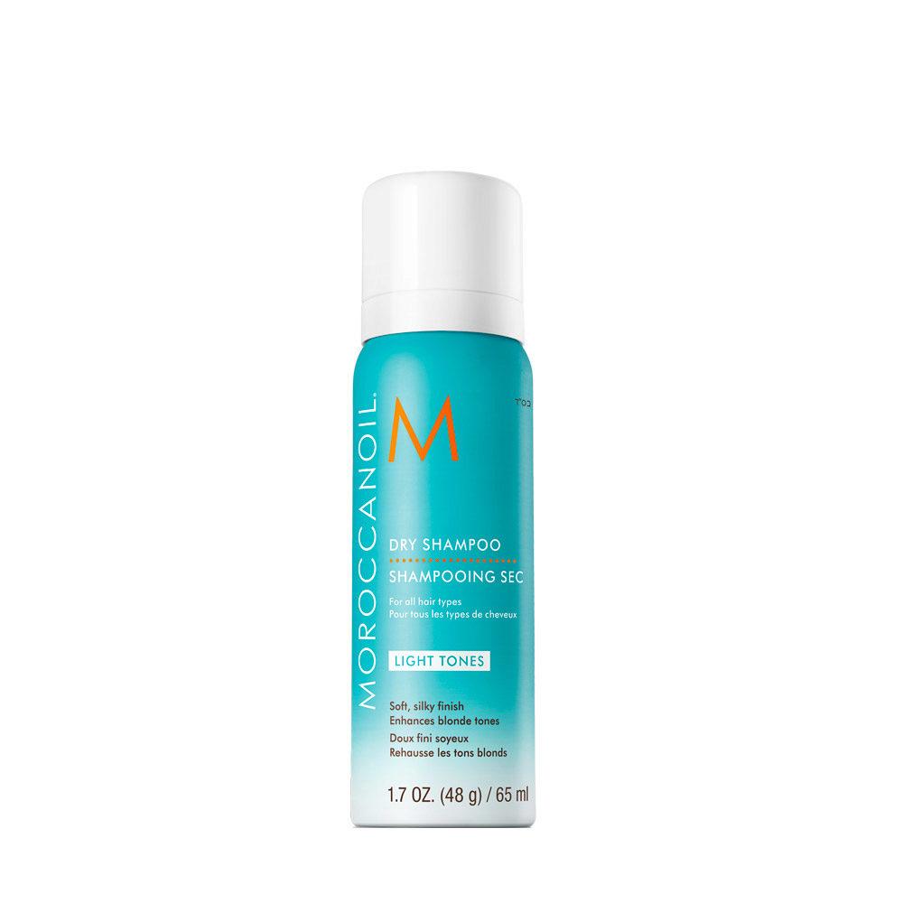 Moroccanoil Dry shampoo Light tones 65ml - shampoo a secco capelli chiari