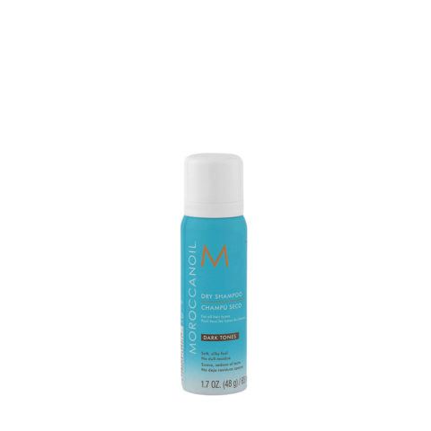 Moroccanoil Dry shampoo Dark tones 65ml - shampoo a secco capelli scuri