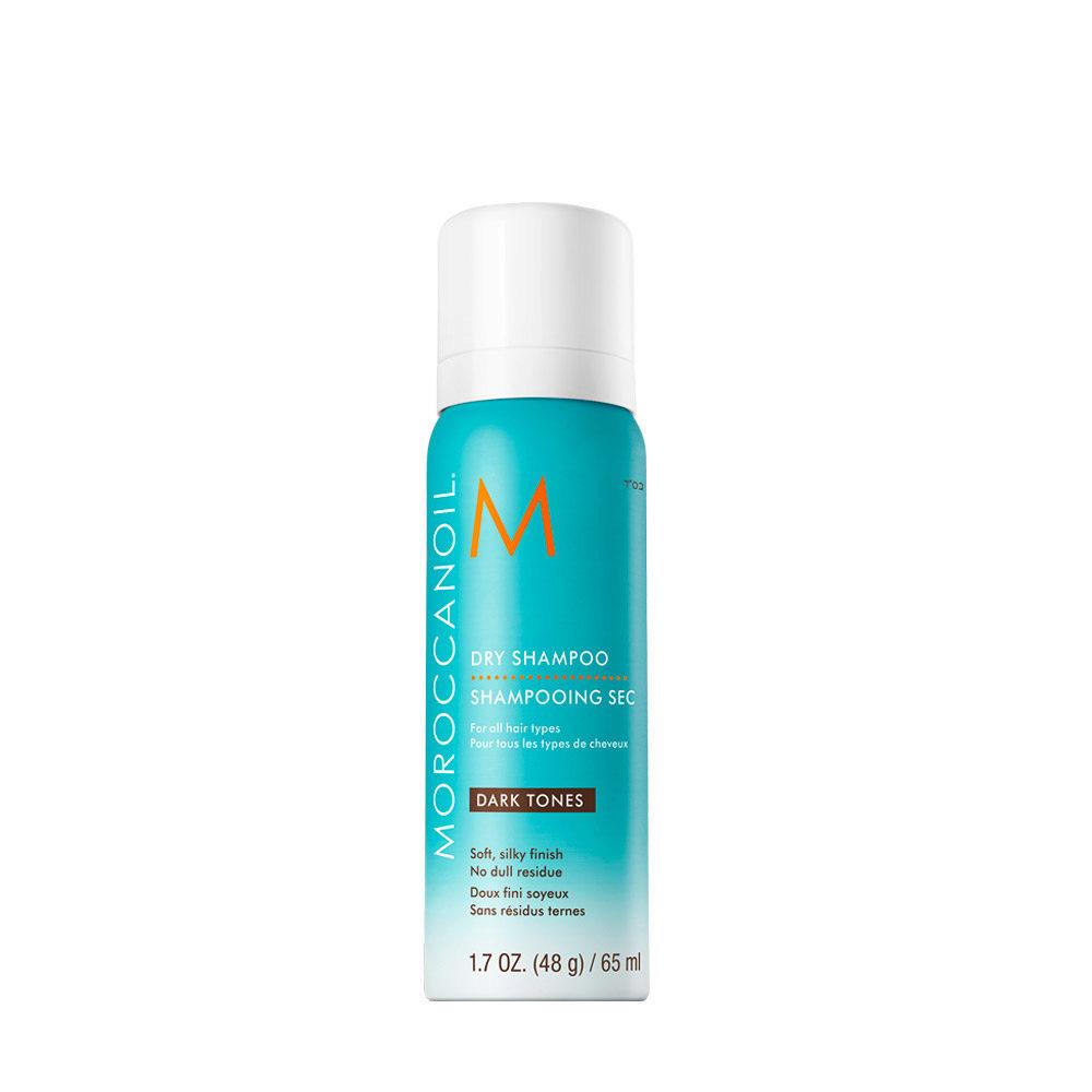Moroccanoil Dry shampoo Dark tones 65ml - shampoo secco capelli scuri