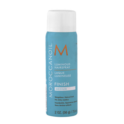 Moroccanoil Luminous Hairspray Finish Medium 75ml - lacca tenuta media