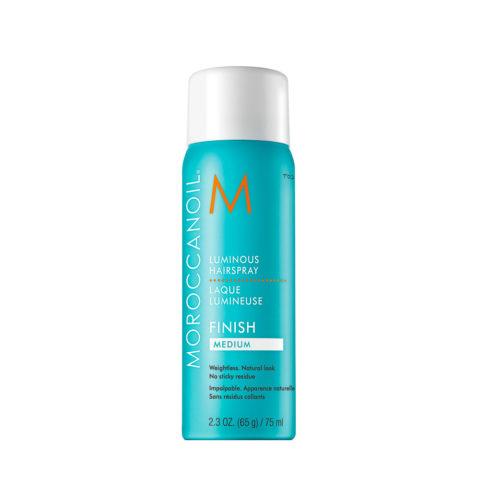 Moroccanoil Luminous Hairspray Finish Medium 75ml - lacca tenuta media