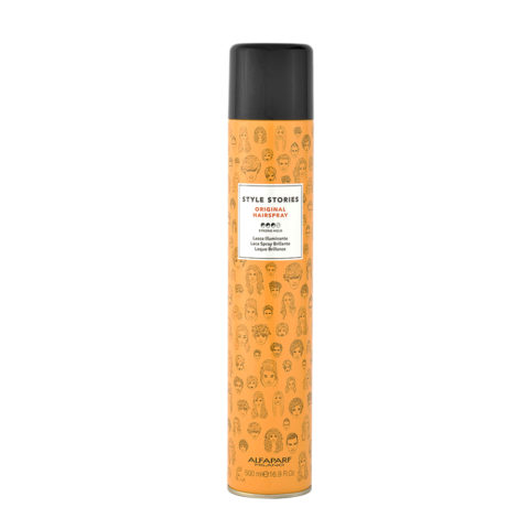 Alfaparf Style Stories Original Hairspray 500ml - Lacca Illuminante