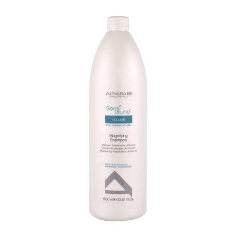 Alfaparf Semi Di Lino Volume Magnifying Shampoo 1000ml - Shampoo Volumizzante