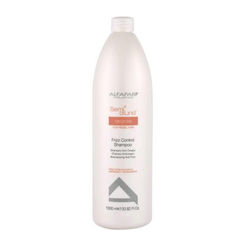 Alfaparf Semi Di Lino Discipline Frizz Control Shampoo 1000ml - Shampoo Anticrespo