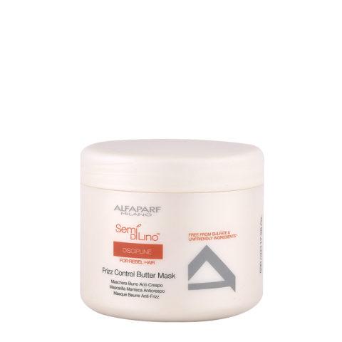 Alfaparf Semi Di Lino Discipline Frizz Control Butter Mask 500ml - Maschera Anticrespo