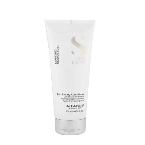 Alfaparf Semi Di Lino Diamond Illuminating Conditioner 200ml - Balsamo Illuminante