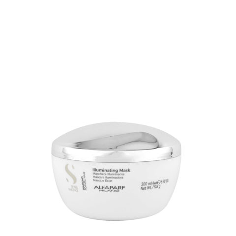 Alfaparf Semi Di Lino Diamond Illuminating Mask 200ml - Maschera Illuminante
