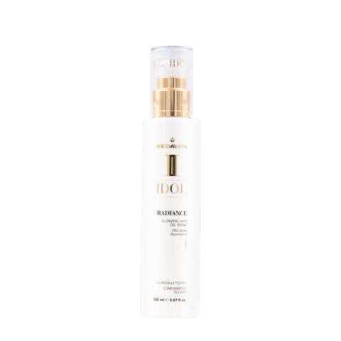 Medavita Idol Shine Radiance Glowing Hair Oil Spray 150ml - Olio Spray Leggero Lucidante