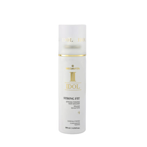 Medavita Idol Texture Strong Fit Strong Firming Hair Mousse 200ml - Schiuma Tenuta Forte