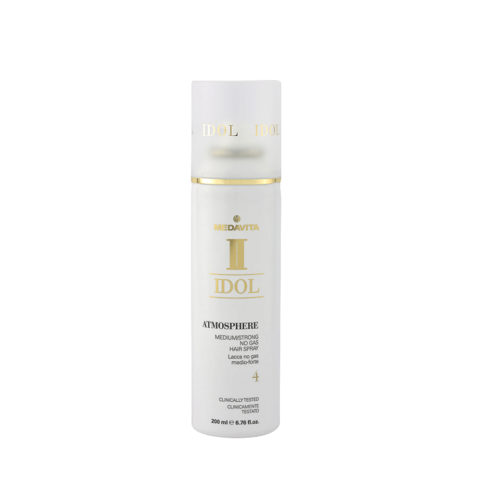 Medavita Idol Texture Atmosphere No Gas Hairspray 200ml Lacca Media / Forte