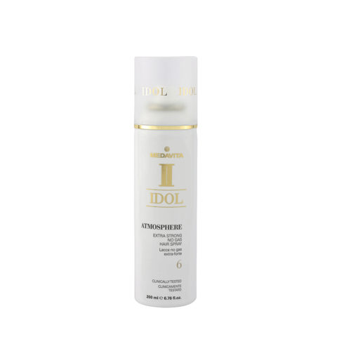 Medavita Idol Texture Atmosphere Extra strong No Gas Hairspray 200ml - Lacca No Gas Extra Forte