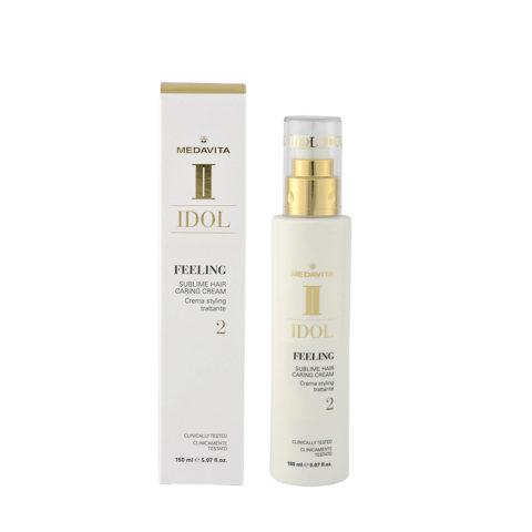 Medavita Idol Texture Feeling Sublime Hair Caring Cream 150ml - Crema Nutriente Leggera