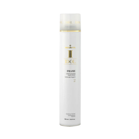 Medavita Idol Texture Frame Light Shaper Hairspray 500ml - Lacca Gas Tenuta Leggera