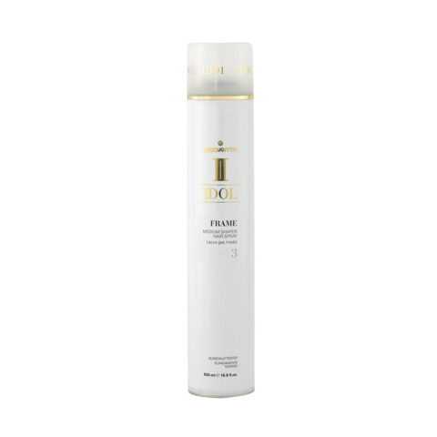 Medavita Idol Texture Frame Medium Shaper Hairspray 500ml - Lacca Gas Tenuta Media