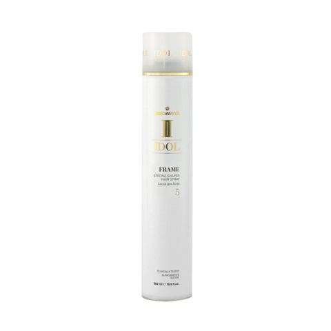 Medavita Idol Texture Frame Strong Shaper Hairspray 500ml - Lacca Gas Tenuta Forte