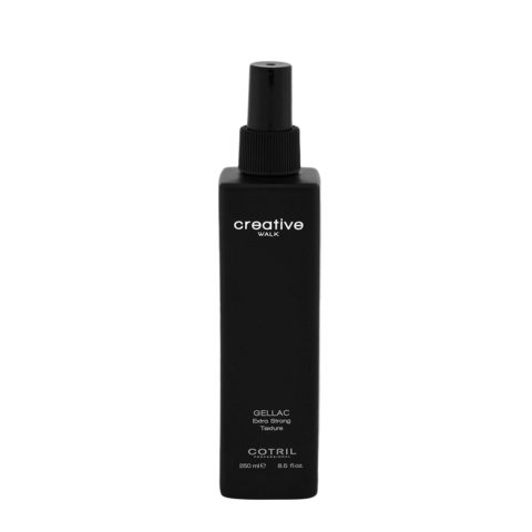 Cotril Creative Walk Styling Gellac Extra strong texture 250ml - gel spray extra forte