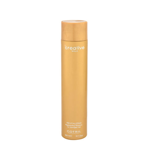 Cotril Creative Walk Revitalizing Regenerating Shampoo for damaged hair 300ml - shampoo ristrutturante