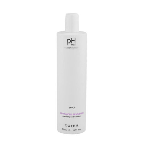 Cotril pH Med Advanced Sensipure Pre Shampoo Treatment 500ml - trattamento pre shampoo purificante
