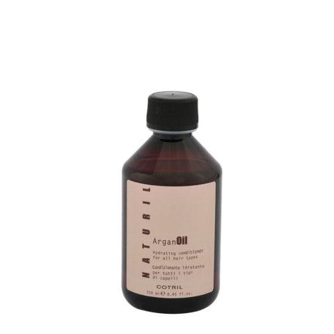 Cotril Naturil Argan Oil Hydrating Conditioner for all hair types 250ml - balsamo idratante per tutti i tipi di capelli