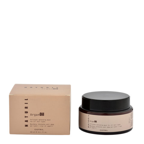 Cotril Naturil Argan Oil Pollutant Defending Mask for all hair types 300ml - maschera anti-smog tutti i tipi di capelli