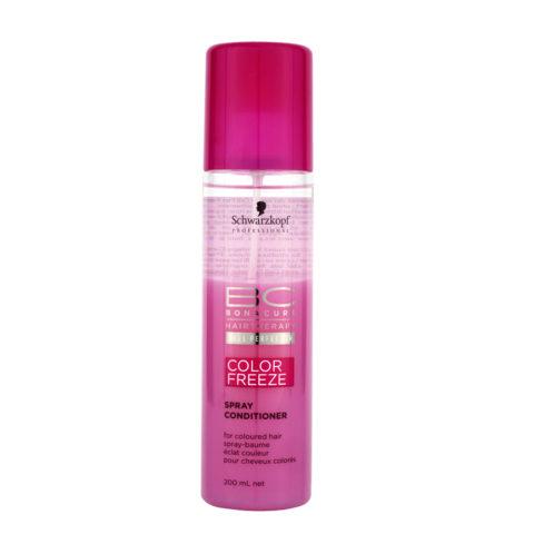Schwarzkopf BC Bonacure Color Freeze Spray Conditioner 200ml - balsamo spray capelli colorati