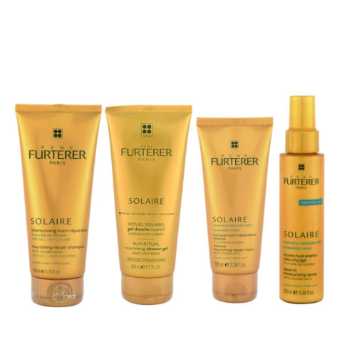 René Furterer Solaire Rituale completo doposole 4 prodotti