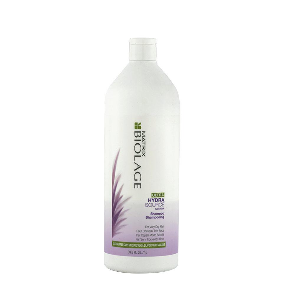 Biolage Ultra Hydrasource Shampoo 1000ml - Shampoo Idratante Per Capelli Molto Secchi