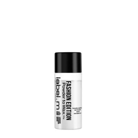 Label.M Complete Fashion Edition Powder to Wax 20gr - cera in polvere tenuta forte