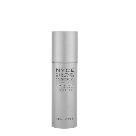 Nyce Styling system Luxury tools I want Illuminate Light-oil 150ml - olio secco illuminante