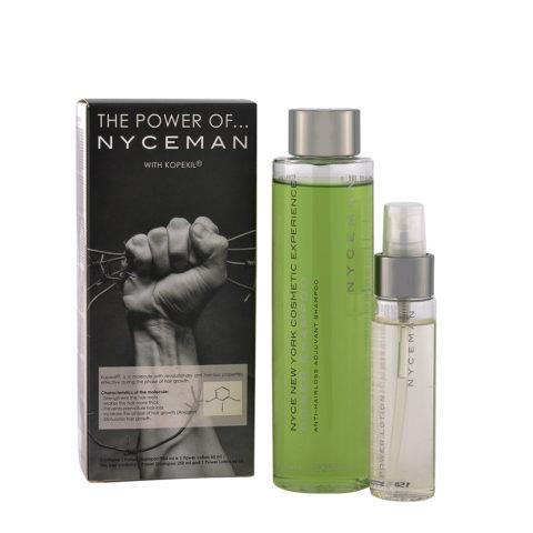 Nyce Nyceman Kit Anticaduta Uomo Power Shampoo 250ml  + Power lotion 60ml