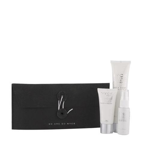 Nyce Anti Pollution Woman Kit Shampoo 75ml Crema viso 30ml Spray capelli 30ml