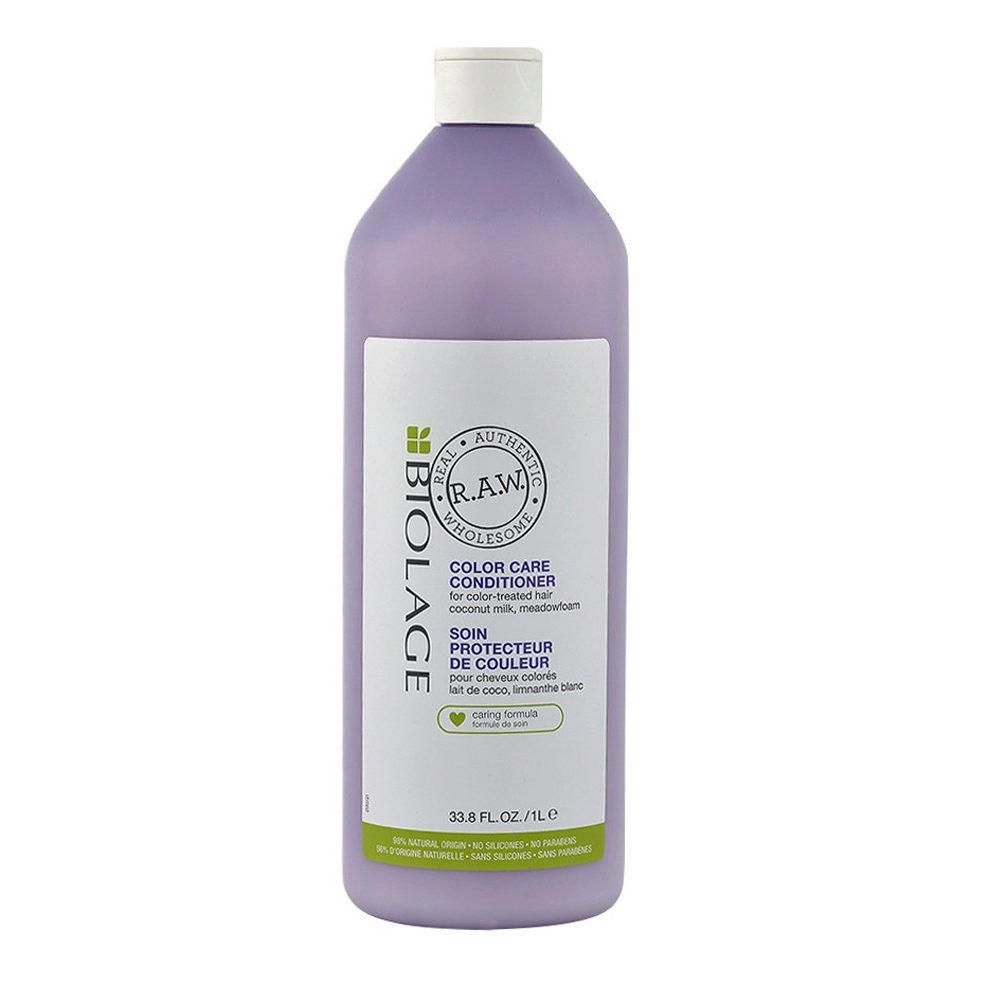 Biolage RAW Color Care Conditioner 1000ml - balsamo capelli colorati