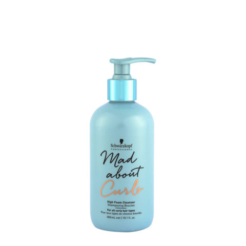 Schwarzkopf Mad about Curls High Foam Cleanser 300ml - shampoo in mousse