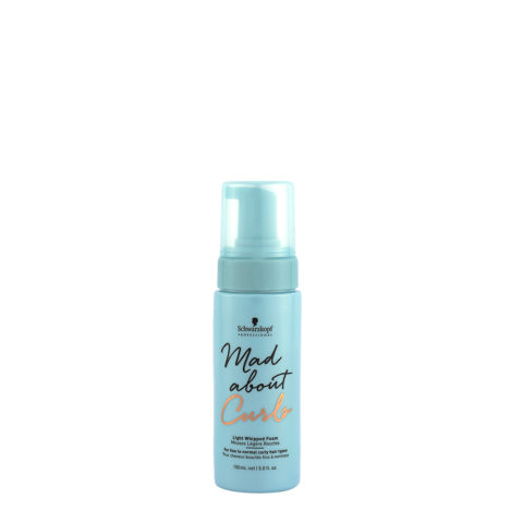 Schwarzkopf Mad about Curls Light Whipped Foam 150ml - mousse leggera