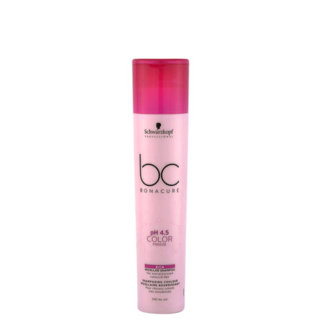 Schwarzkopf BC Bonacure pH 4.5 Color Freeze Rich Micellar Shampoo 250ml