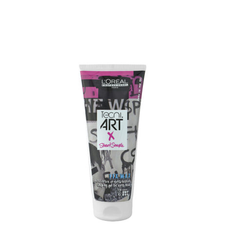L'Oreal Tecni art Fissaggio Fix max gel 200ml Limited Edition - gel tenuta forte