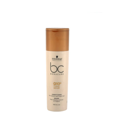 Schwarzkopf BC Bonacure Time Restore Q10 Conditioner 200ml - balsamo capelli fragili