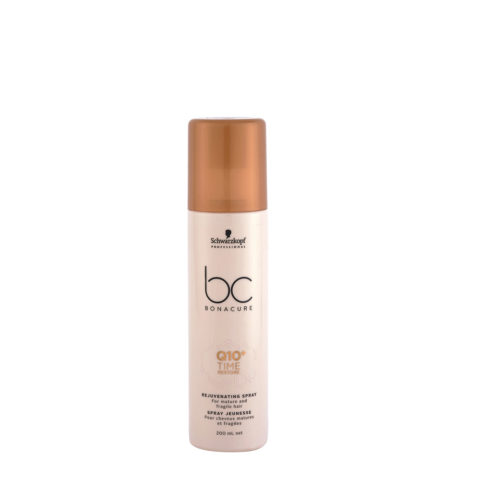 Schwarzkopf BC Bonacure Time Restore Q10 Rejuvenating Spray 200ml - spray capelli fragili