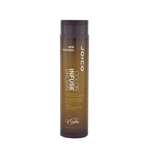 Joico Color Infuse Brown Shampoo 300ml - shampoo capelli castani