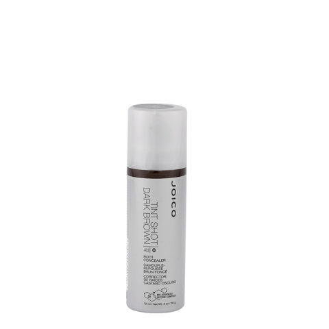 Joico Tint Shot Root Concealer Dark Brown 72ml - correttore ricrescita in spray castano scuro
