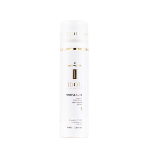 Medavita Idol Moonlight Glossy hair spray 150ml - Spray Lucidante Leggero