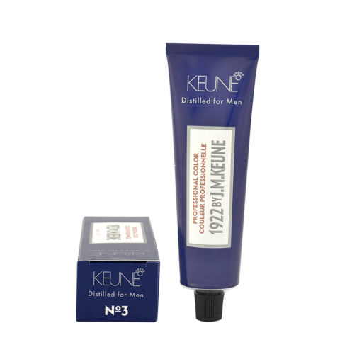N 3 Keune 1922 Color Dark brown 60ml - castano scuro