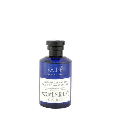 Keune 1922 Essential Shampoo 250ml - shampoo corpo e capelli