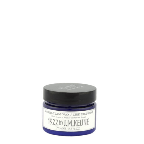 Keune 1922 Styling World Class Wax 75ml - cera lisciante
